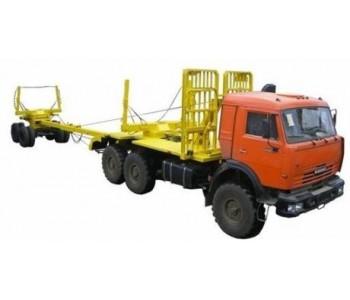 Лесовоз Камаз 43118-1016-15 6x6
