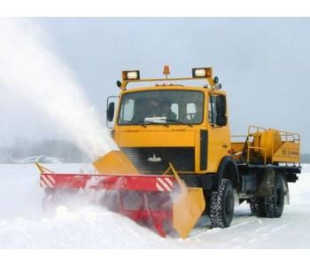 Снегоочиститель фрезерно-роторный Амкодор 9512