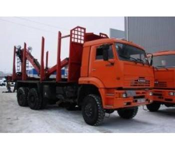 Сортиментовоз КамАЗ-65225 6x6